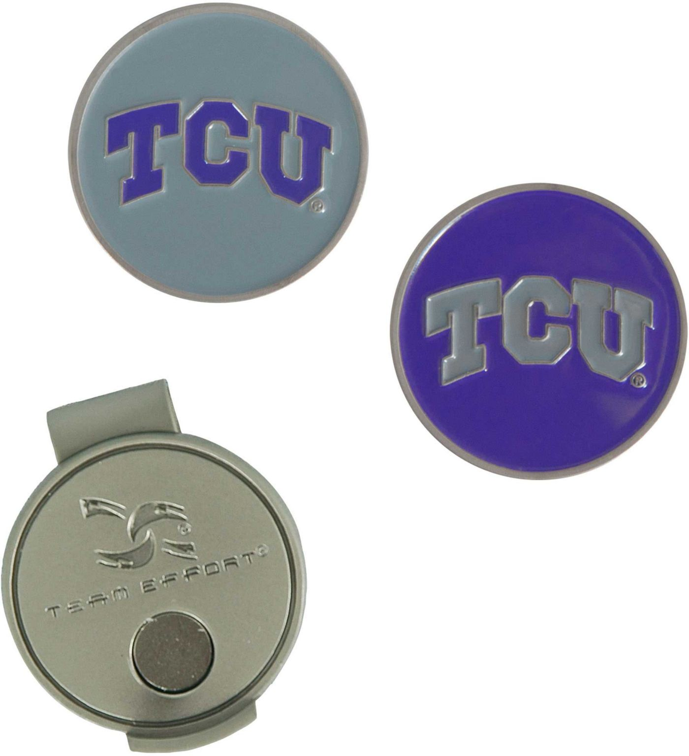 Team Effort TCU Horned Frogs Hat Clip and Ball Markers Set