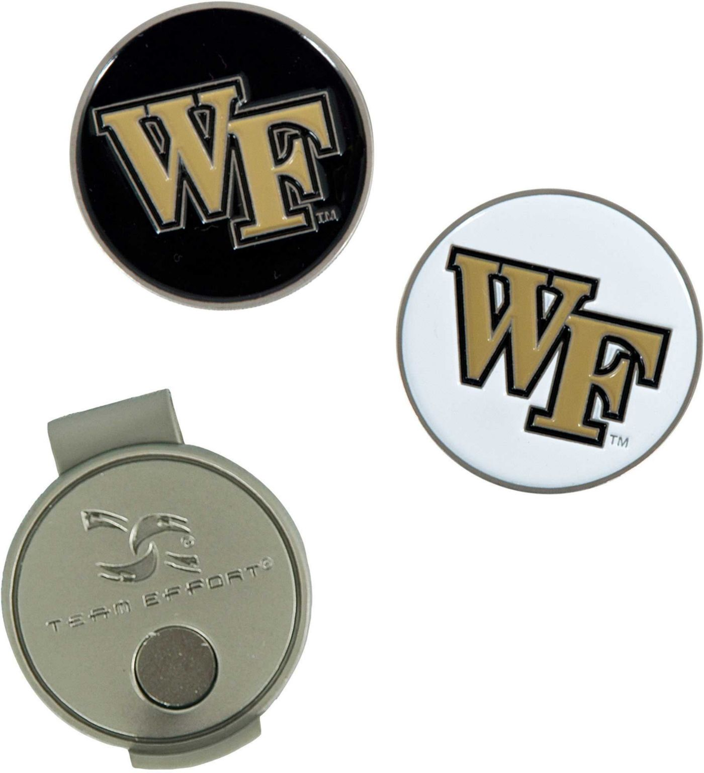 Team Effort Wake Forest Demon Deacons Hat Clip and Ball Markers Set