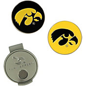Team Effort Iowa Hawkeyes Hat Clip and Ball Markers Set