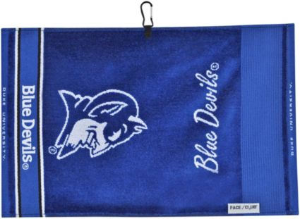 Team Effort Duke Blue Devils Face/Club Jacquard Golf Towel