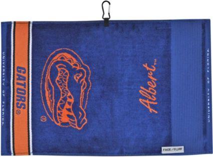Team Effort Florida Gators Face/Club Jacquard Golf Towel