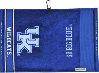 Team Effort Kentucky Wildcats Face/Club Jacquard Golf Towel