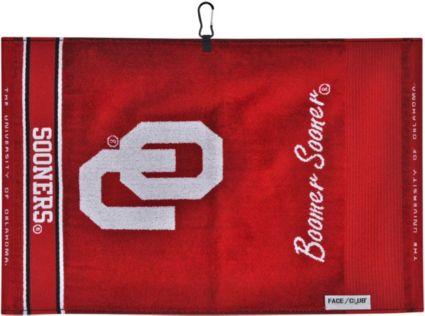 Team Effort Oklahoma Sooners Face/Club Jacquard Golf Towel