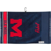 Team Effort Ole Miss Rebels Face/Club Jacquard Golf Towel