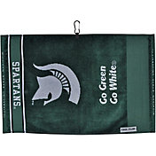 Team Effort Michigan State Spartans Face/Club Jacquard Golf Towel