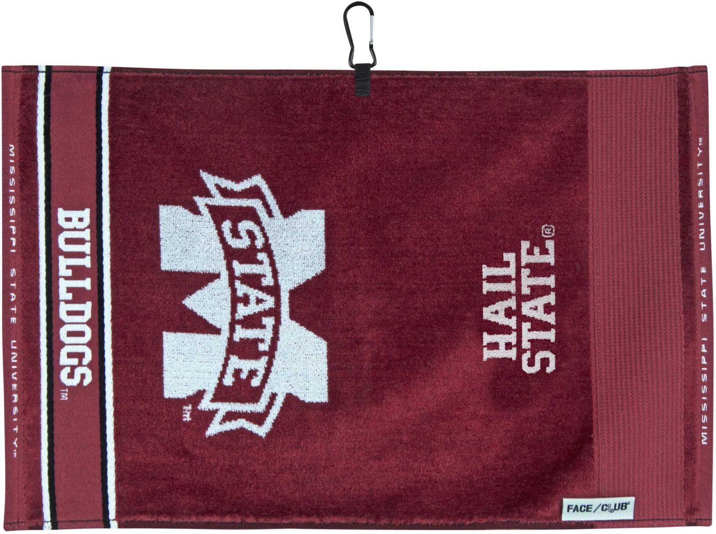 Team Effort Mississippi State Bulldogs Face/Club Jacquard Golf Towel