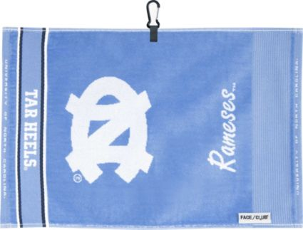 Team Effort North Carolina Tar Heels Face/Club Jacquard Golf Towel