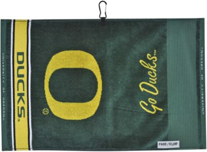 Team Effort Oregon Ducks Face/Club Jacquard Golf Towel