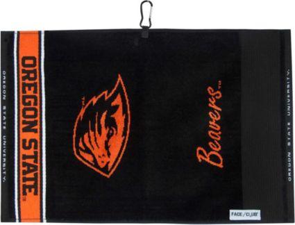Team Effort Oregon State Beavers Face/Club Jacquard Golf Towel