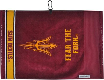 Team Effort Arizona State Sun Devils Face/Club Jacquard Golf Towel