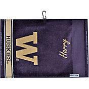 Team Effort Washington Huskies Face/Club Jacquard Golf Towel