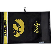 Team Effort Iowa Hawkeyes Face/Club Jacquard Golf Towel