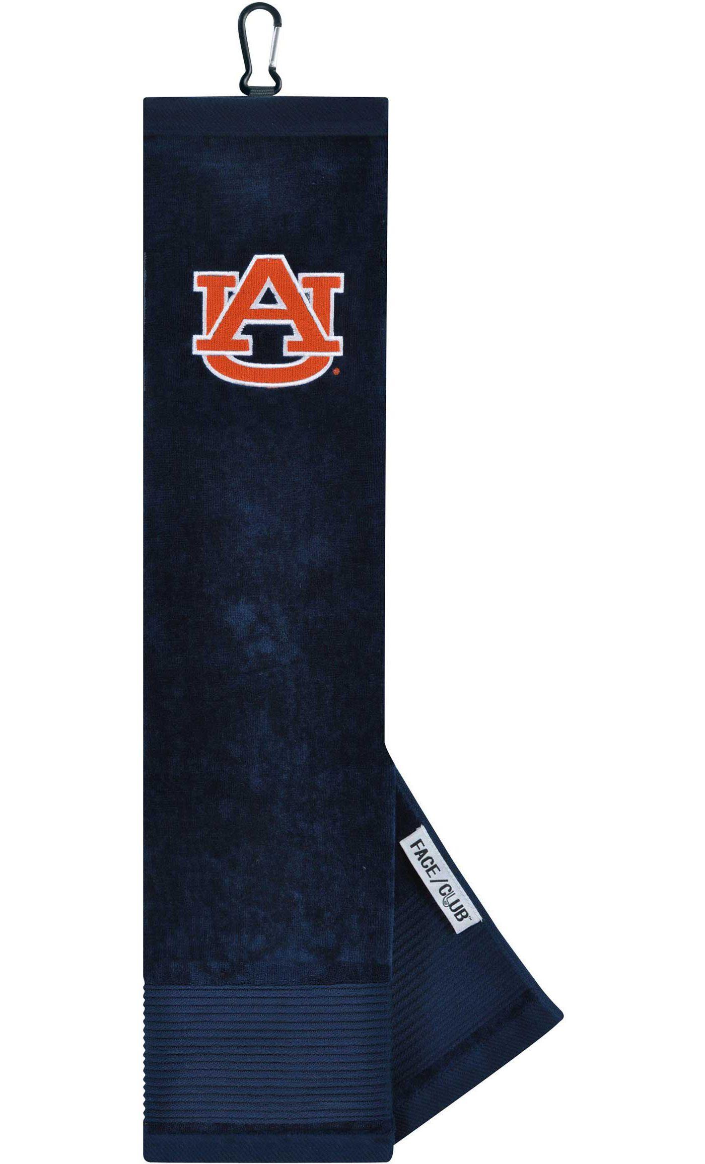 Team Effort Auburn Tigers Embroidered Face/Club Tri-Fold Towel