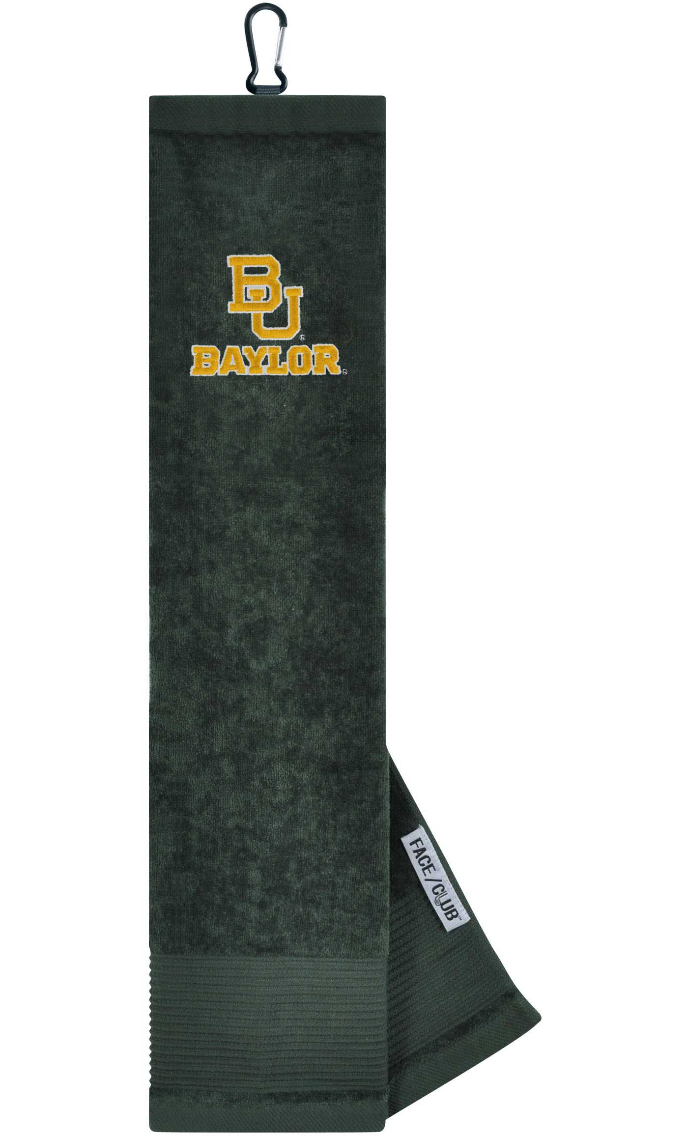 Team Effort Baylor Bears Embroidered Face/Club Tri-Fold Towel