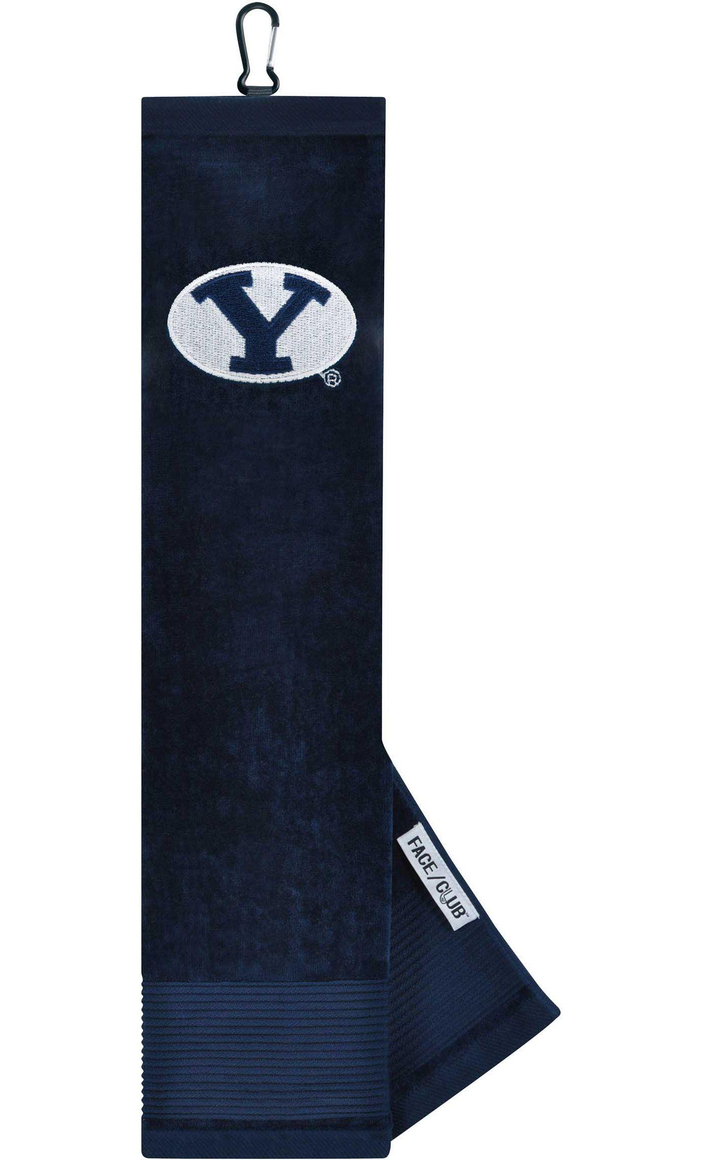 Team Effort BYU Cougars Embroidered Face/Club Tri-Fold Towel