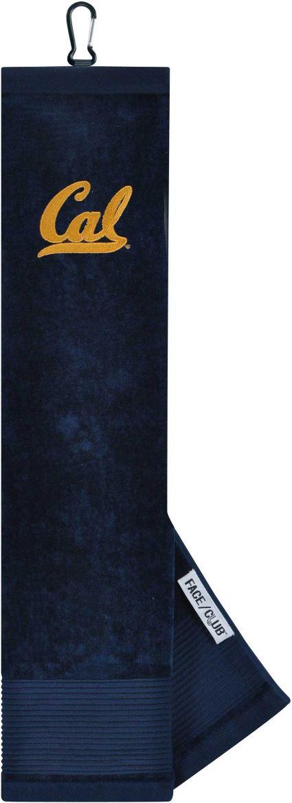 Team Effort Cal Golden Bears Embroidered Face/Club Tri-Fold Towel