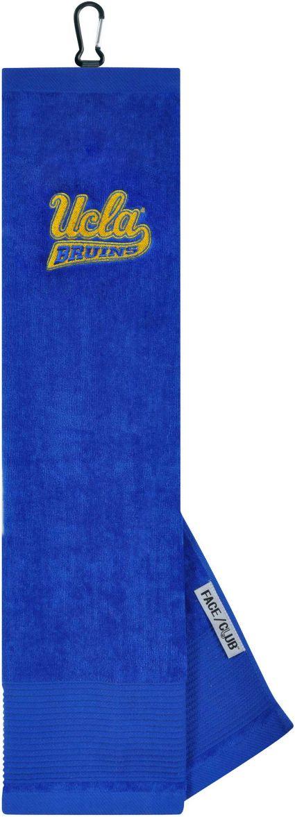 Team Effort UCLA Bruins Embroidered Face/Club Tri-Fold Towel