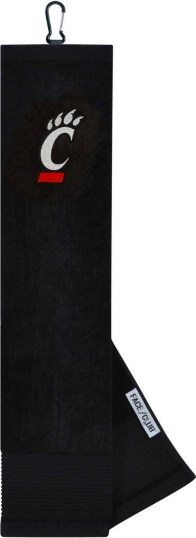 Team Effort Cincinnati Bearcats Embroidered Face/Club Tri-Fold Towel