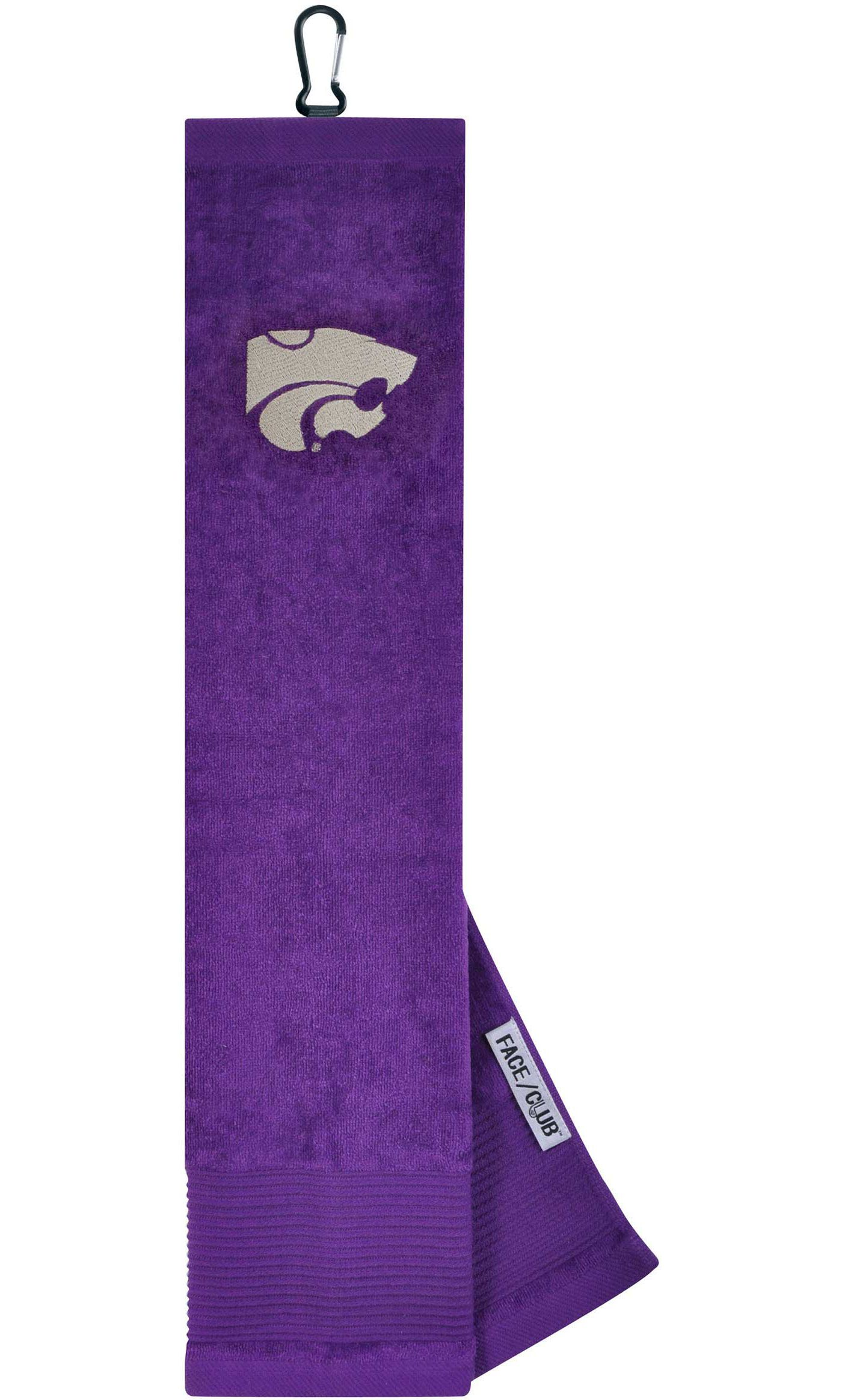 Team Effort Kansas State Wildcats Embroidered Face/Club Tri-Fold Towel