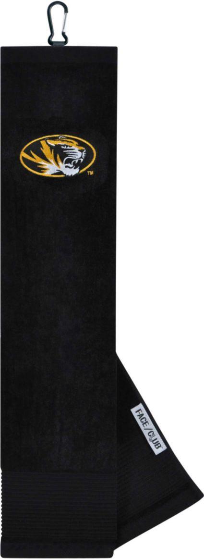 Team Effort Missouri Tigers Embroidered Face/Club Tri-Fold Towel