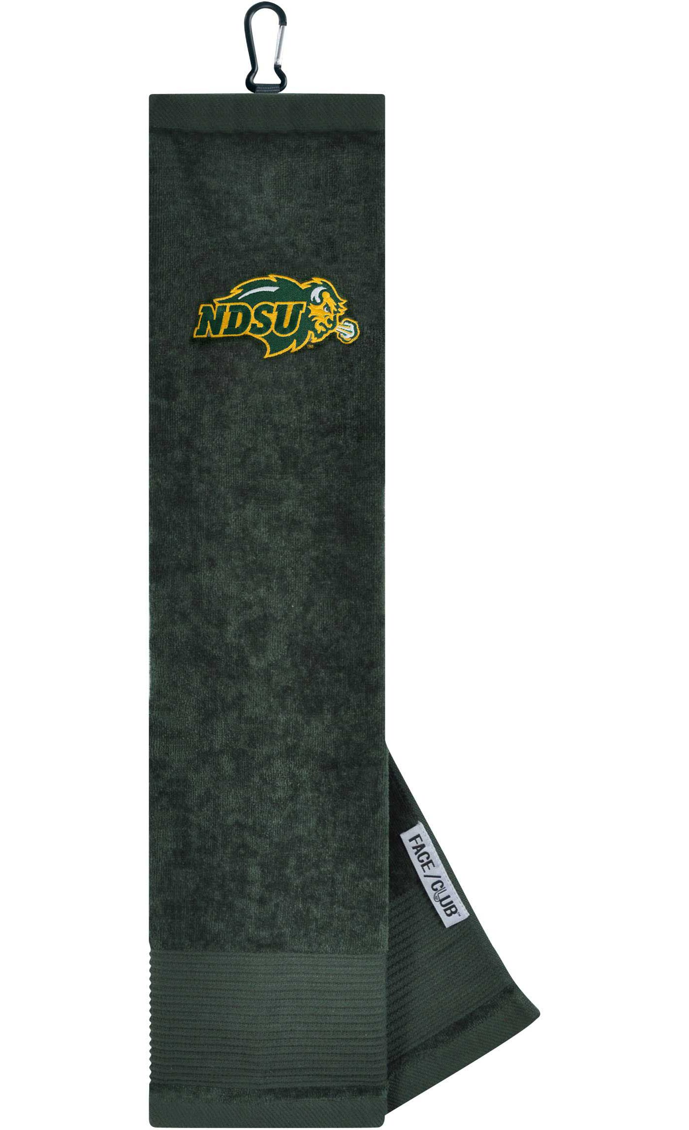 Team Effort North Dakota State Bison Embroidered Face/Club Tri-Fold Towel