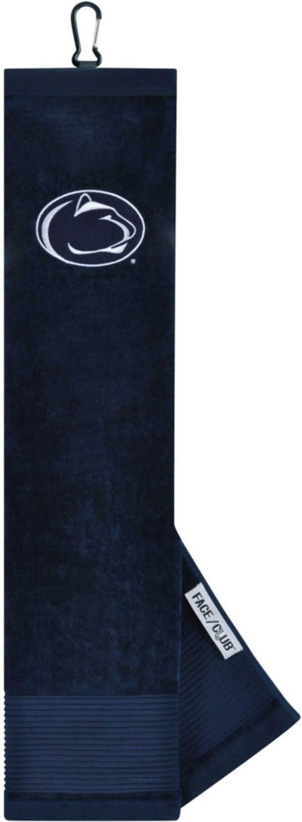 Team Effort Penn State Nittany Lions Embroidered Face/Club Tri-Fold Towel