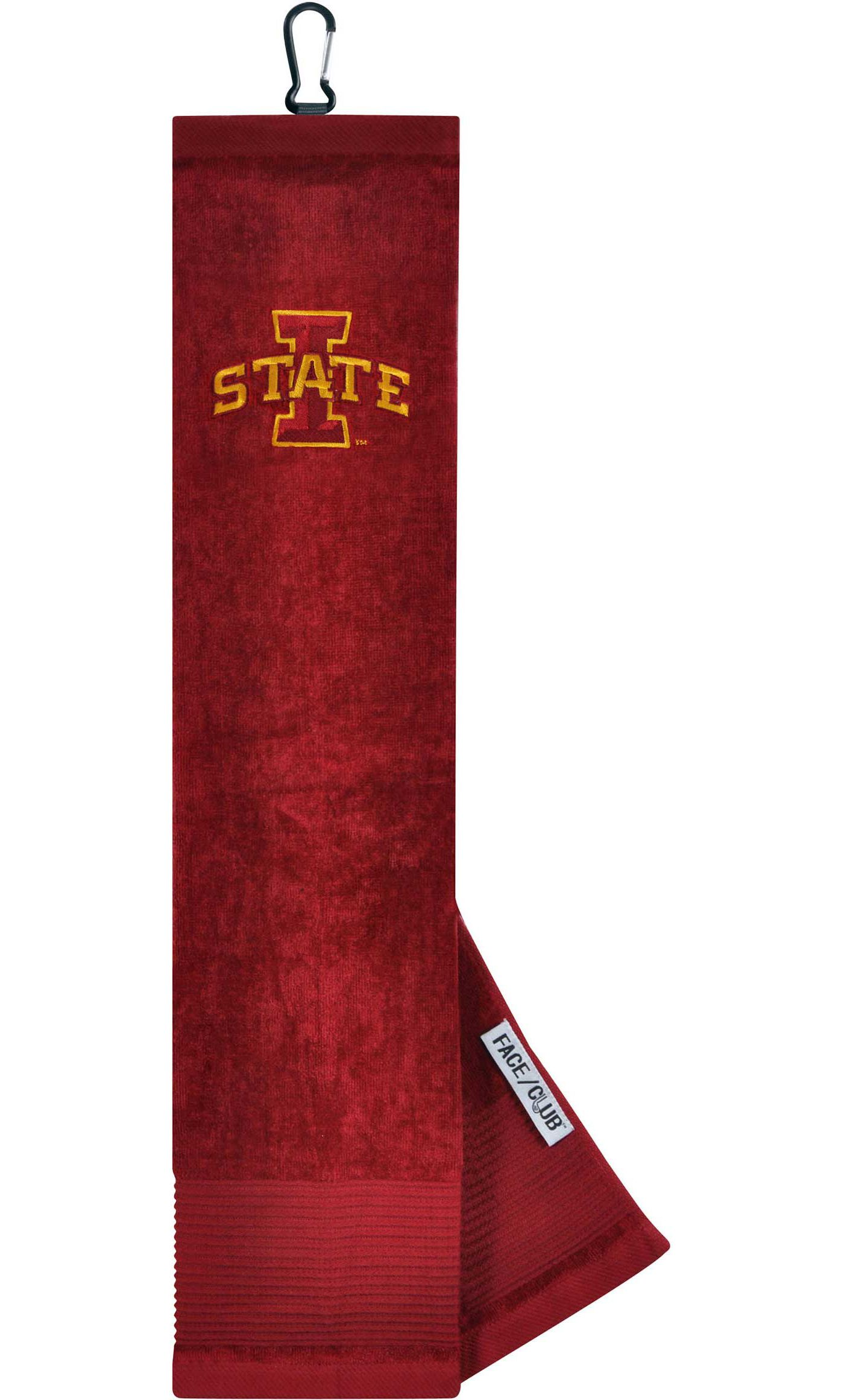 Team Effort Iowa State Cyclones Embroidered Face/Club Tri-Fold Towel