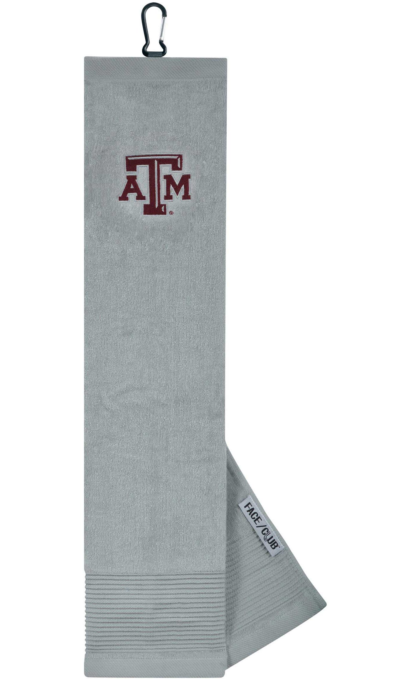 Team Effort Texas A&M Aggies Embroidered Face/Club Tri-Fold Towel
