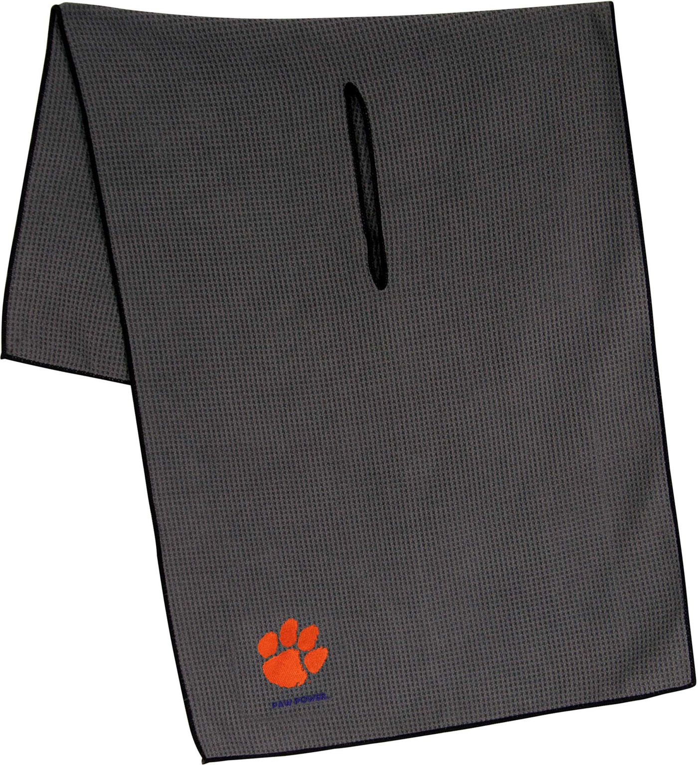 "Team Effort Clemson Tigers 19"" x 41"" Microfiber Golf Towel"