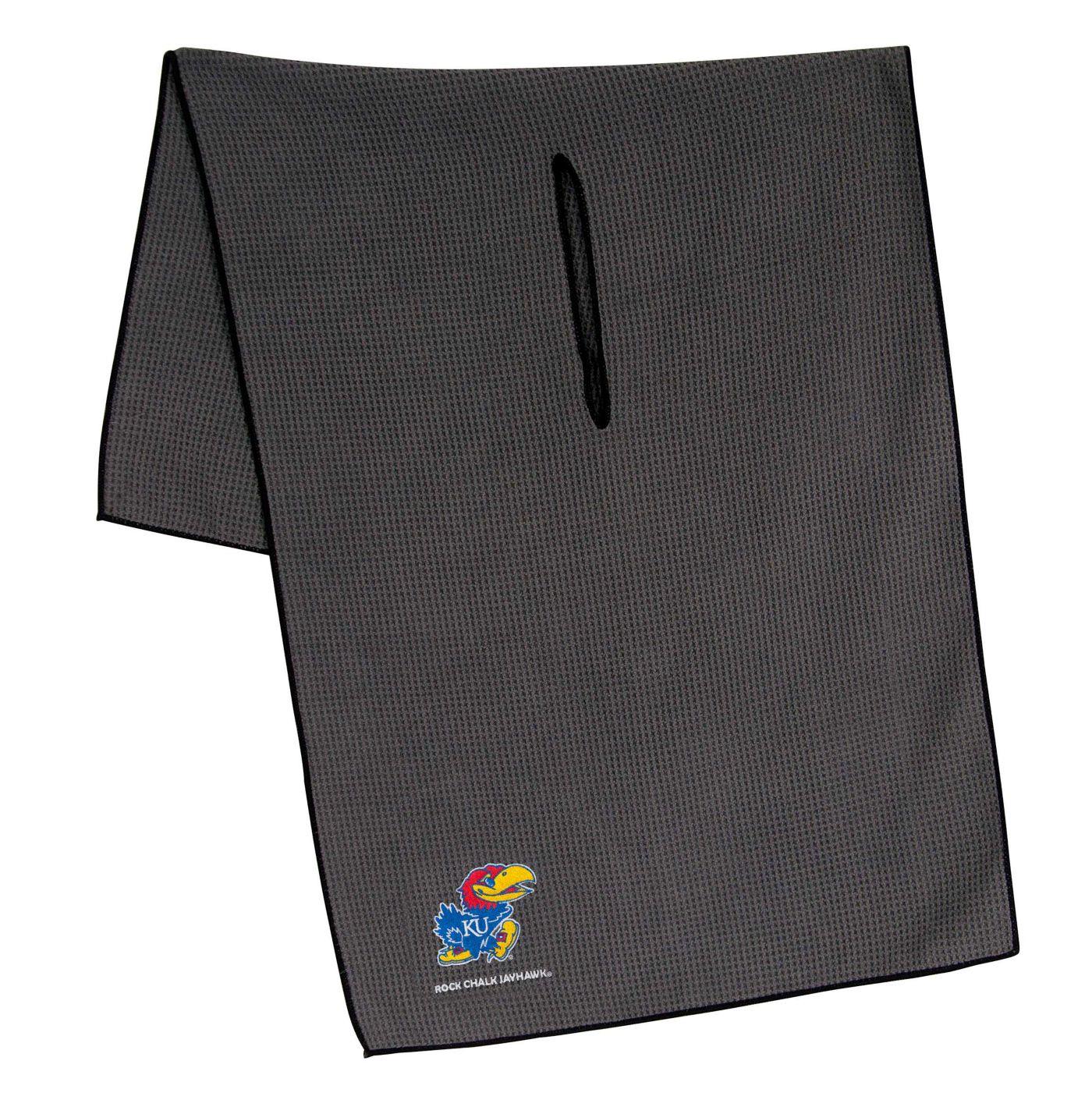 "Team Effort Kansas Jayhawks 19"" x 41"" Microfiber Golf Towel"