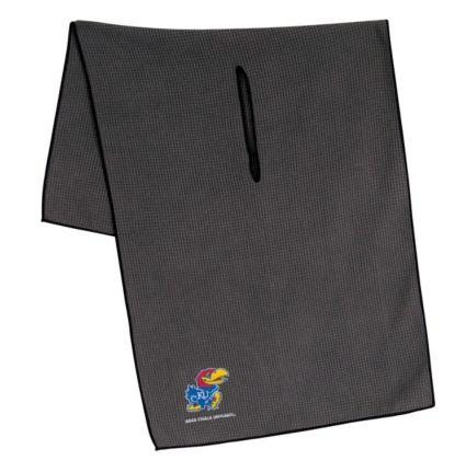 "Team Effort Kansas Jayhawks 16"" x 41"" Microfiber Golf Towel"