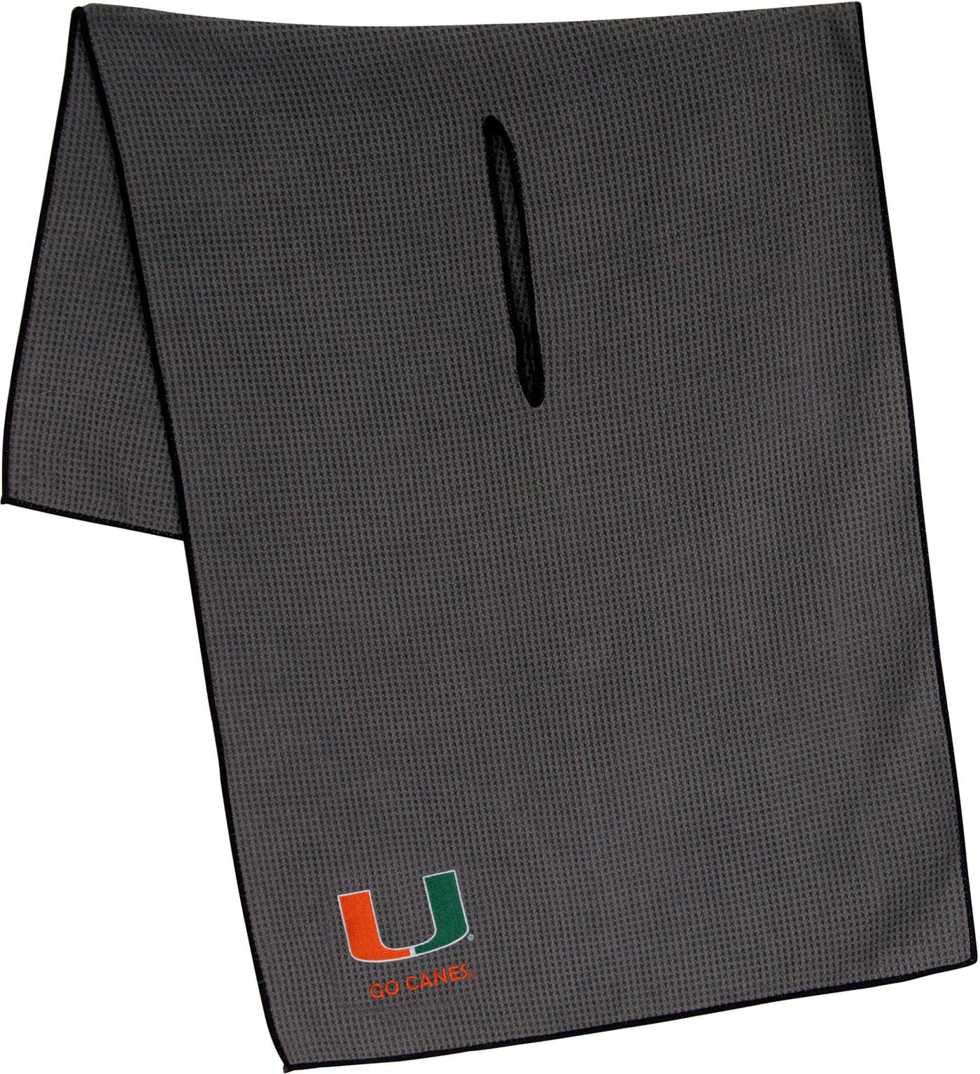 "Team Effort Miami Hurricanes 19"" x 41"" Microfiber Golf Towel"