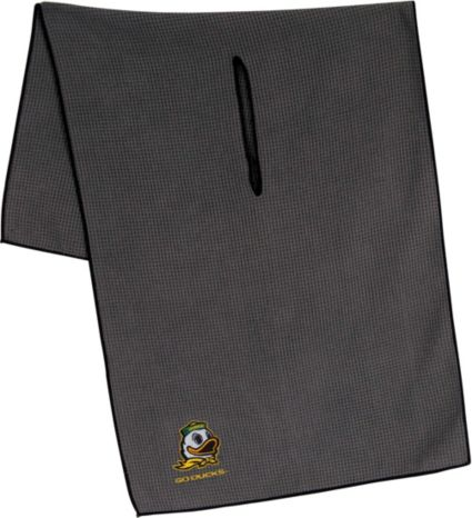 "Team Effort Oregon Ducks 16"" x 41"" Microfiber Golf Towel"