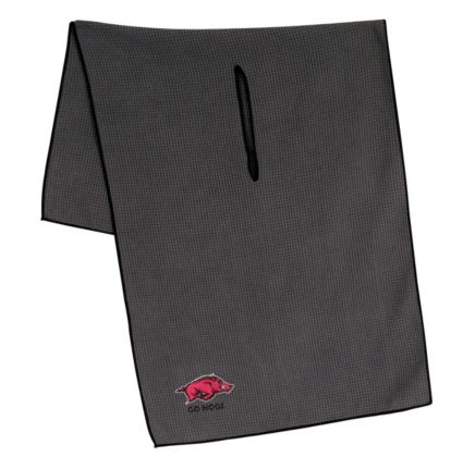 "Team Effort Arkansas Razorbacks 16"" x 41"" Microfiber Golf Towel"