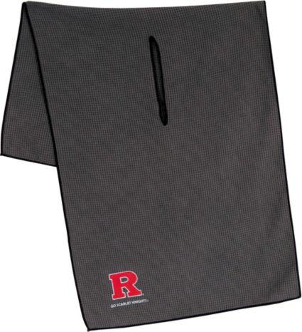 """Team Effort Rutgers Scarlet Knights 16"""" x 41"""" Microfiber Golf Towel"""
