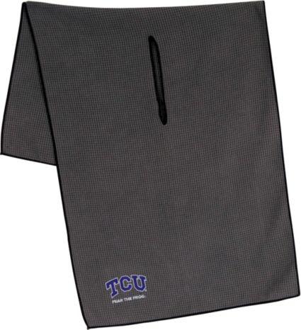 """Team Effort TCU Horned Frogs 16"""" x 41"""" Microfiber Golf Towel"""