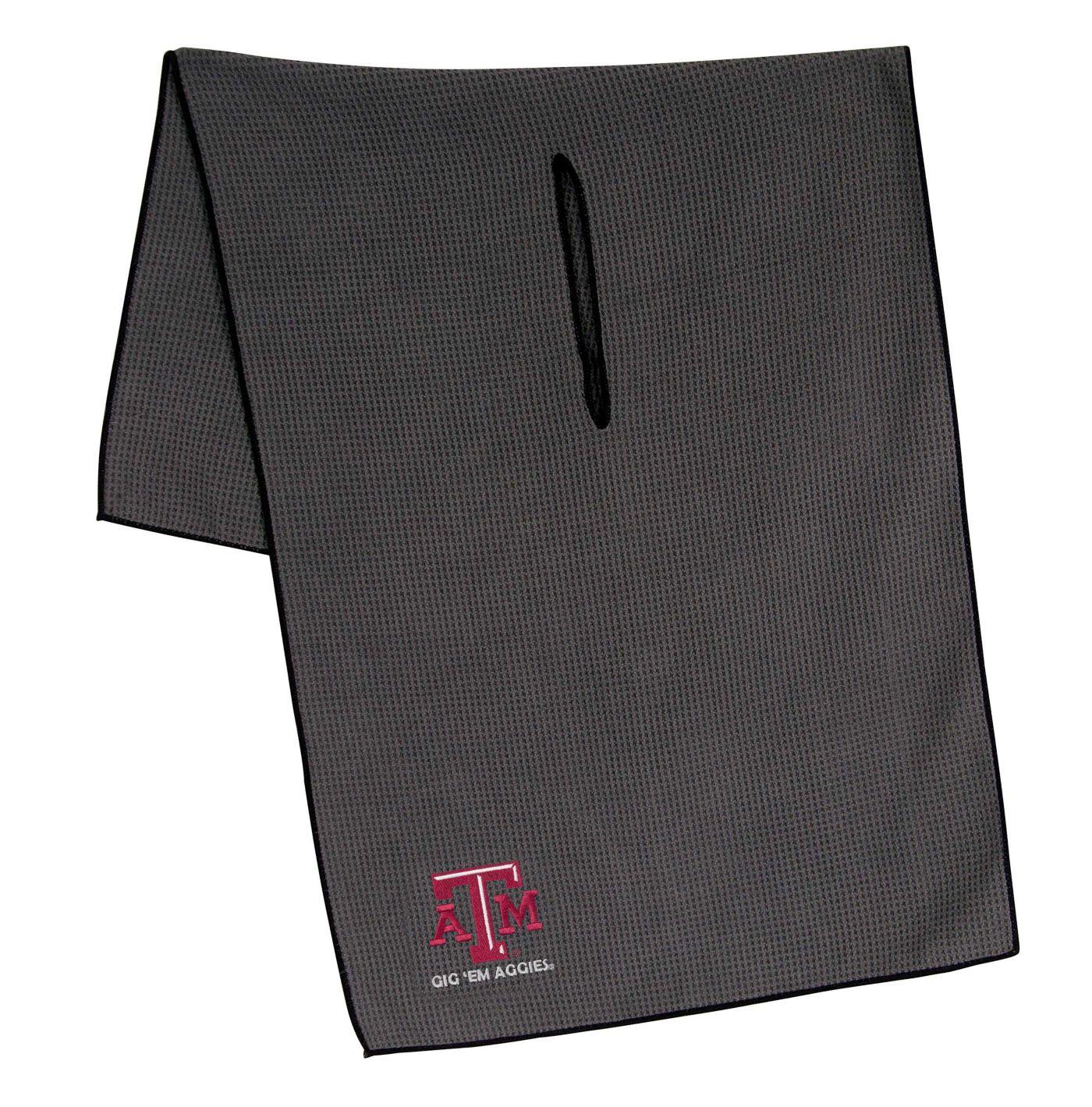 "Team Effort Texas A&M Aggies 19"" x 41"" Microfiber Golf Towel"