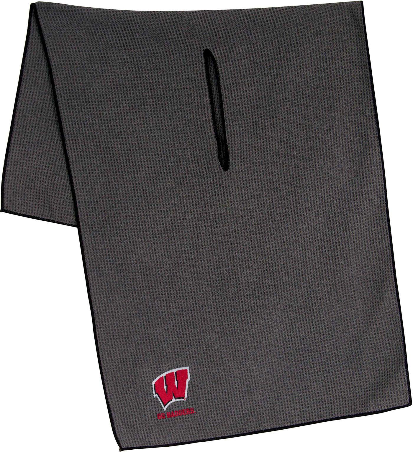 """Team Effort Wisconsin Badgers 19"""" x 41"""" Microfiber Golf Towel"""