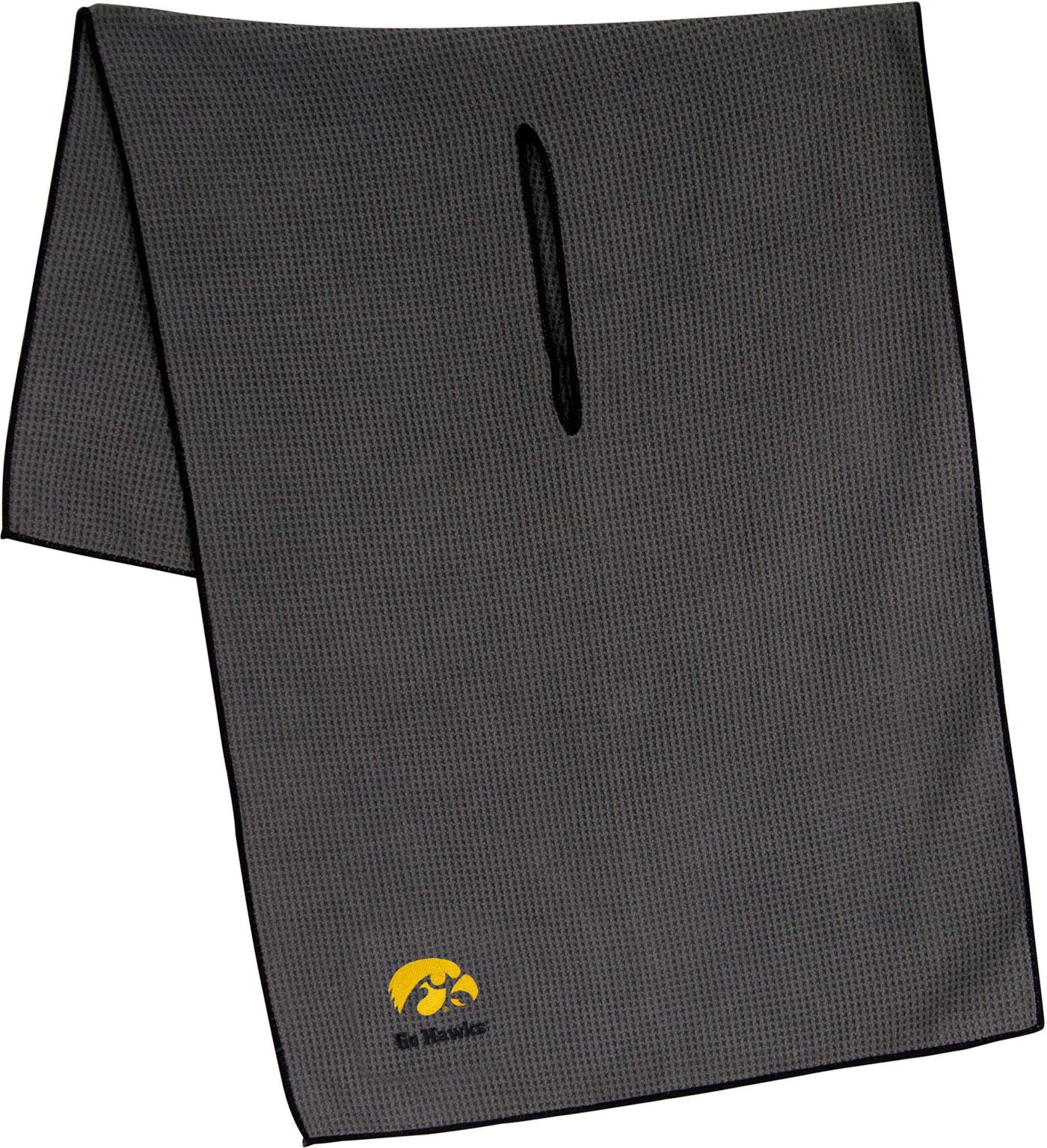 "Team Effort Iowa Hawkeyes 19"" x 41"" Microfiber Golf Towel"