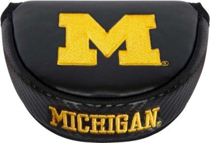 Team Effort Michigan Wolverines Mallet Putter Headcover