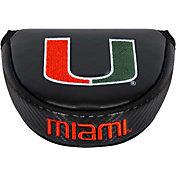 Team Effort Miami Hurricanes Mallet Putter Headcover