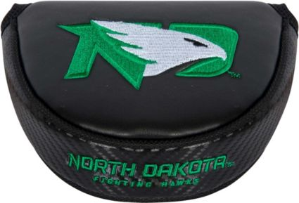 Team Effort North Dakota Fighting Hawks Mallet Putter Headcover