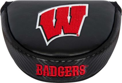 Team Effort Wisconsin Badgers Mallet Putter Headcover