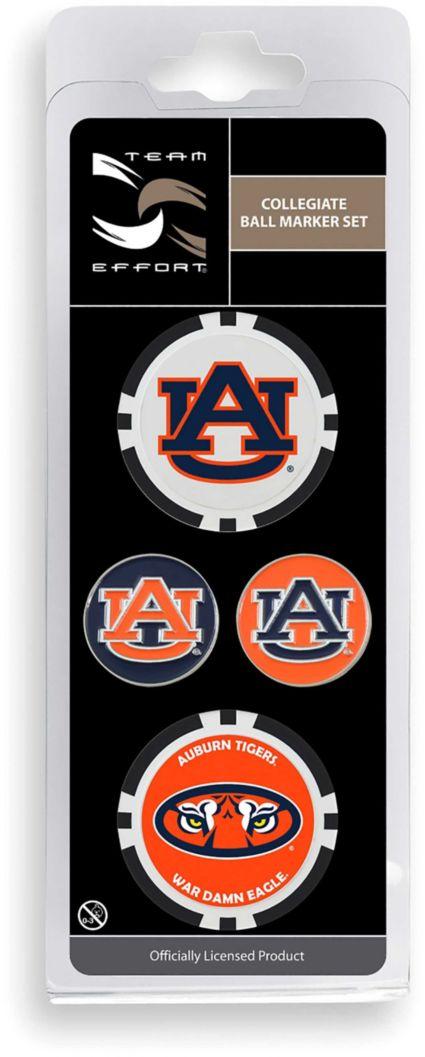 Team Effort Auburn Tigers Ball Marker Set