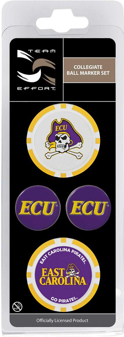 Team Effort East Carolina Pirates Ball Marker Set