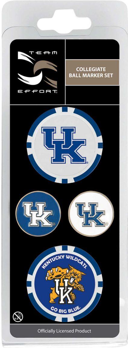 Team Effort Kentucky Wildcats Ball Marker Set