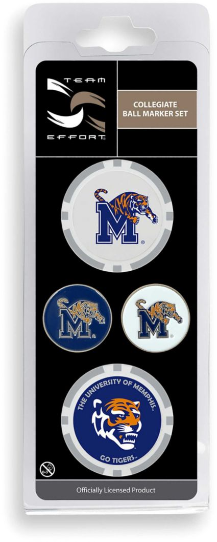 Team Effort Memphis Tigers Ball Marker Set
