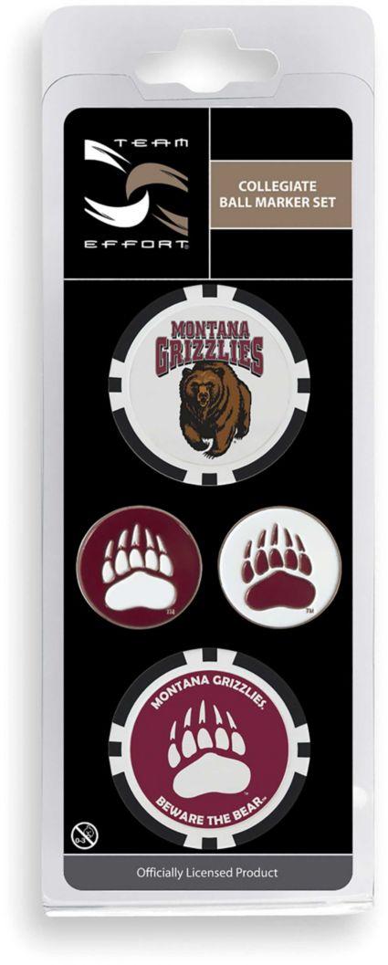 Team Effort Montana Grizzlies Ball Marker Set