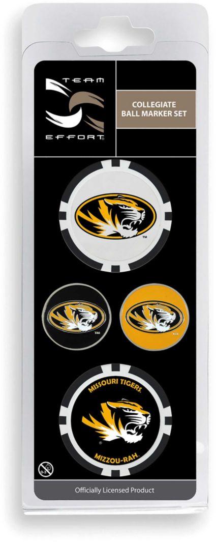 Team Effort Missouri Tigers Ball Marker Set