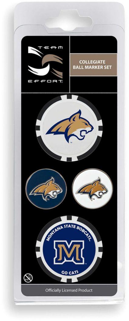 Team Effort Montana State Bobcats Ball Marker Set